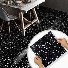 Home Floor Contact INS Style Terrazzo Simple Design Floor Stickers Waterproof Tiles Bathroom Self-adhesive Ground Decor Decals