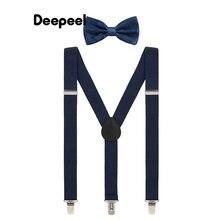 1 шт 25*120 см галстук бабочка мужские подтяжки y образной формы