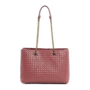 Image 1 - Womens Shoulder Bag 100% Sheepskin Leather Tote Shopping Bag Luxury Brand Design Handbag Fashion Simple Large Capacity 2020 New