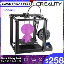 CREALITY 3Dเครื่องพิมพ์Ender 5 Dual Y Axisมอเตอร์แม่เหล็กสร้างแผ่นปิดResumeหน้ากากพิมพ์Enclosedโครงสร้าง