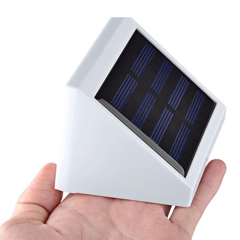 Led Garden Solar Light Outdoor Ip65 Led Solar Lamp Light Control Solar Powered Wall Lamp For Yard Patio Lighting
