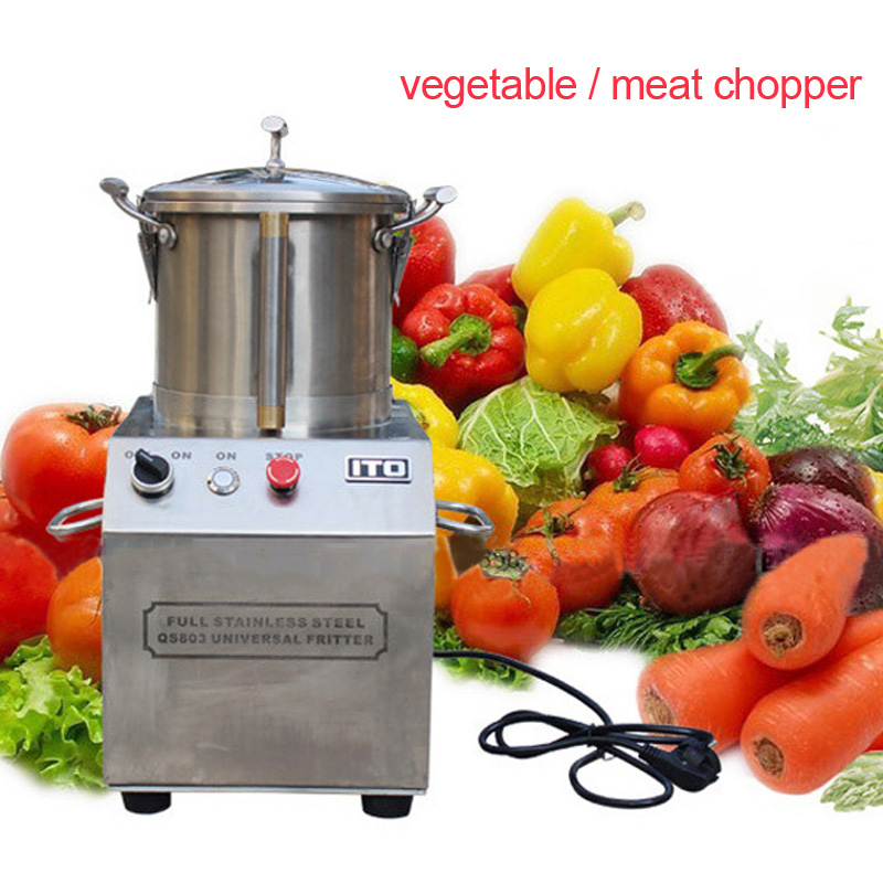 4L Automatic multi function meat grinder Stainless steel meat chopping machine Commercial stuffing machine for buns/dumplings|Meat Grinders| |  - title=