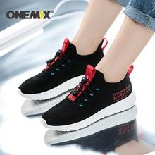 ONEMIX – chaussures de course en maille pour hommes et femmes, baskets de Sport en plein air, respirantes, souples, à rebond, semelle extérieure