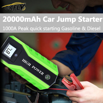 GkFLY Car Jump Starter 1000A Charger for Car Portable Power Bank 12V Starting Device Vehicle Battery Booster image