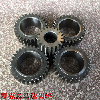Xinyuan 65o875 excavator Rilon rotating motor gearbox gear Sekas inner and outer solar tooth fittings