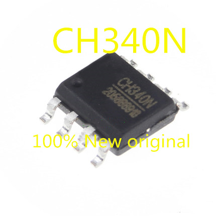 5PCS-20PCS  New Original  CH340N SOP-8 USB Serial Port Chip Compatible With CH330N