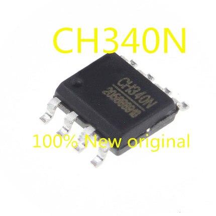 5PCS-20PCS  New Original  CH340N SOP-8 USB Serial Port Chip Compatible With CH330N