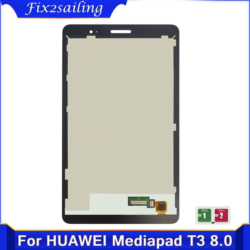8,0 ''para Huawei Mediapad T3 8 KOB-L09 KOB-W09 T3 pantalla LCD de montaje de digitalizador con pantalla táctil para reemplazar HUAWEI T3 8,0