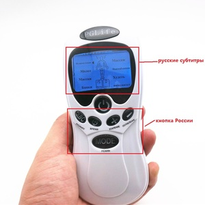 Image 3 - English Or Russian Dual Channels Physical Therapy Body Massage TENS Unit E stim Electronic Pulse Muscle Stimulator Pain Relief