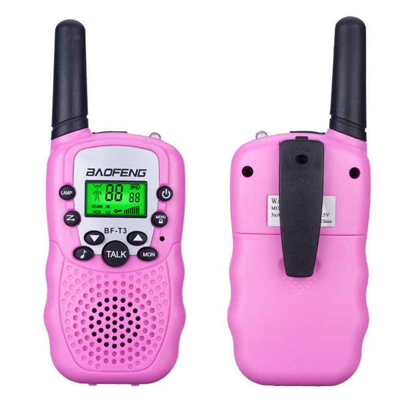 1 Pair Kids Walkie Talkie Phone Toys For Children Portable Two-Way Walkie-Talkies Toy Long Range Outdoor Interactive Game Gift