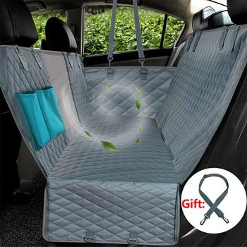 Waterproof Pet Car Seat Cover Backseat Mat Dogs Cats