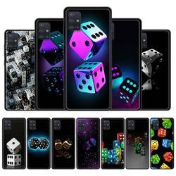 Силиконовый чехол Love Dice для Samsung Galaxy A51, A71, A21s, A31, A41, A11, A32, A12, A02s, A52, M31, M51