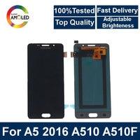 AMOLED liquid crystal display Suitable for Samsung Galaxy A5 2016 A510F A510M A510FD A5100 A510Y LCD touch screen digitizer comp