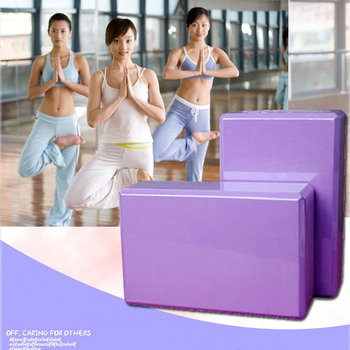 SENOYA  yoga block eva foam block support gym Pilates exercises Fitness shaping health training yoga strengthening pillow 23 15 7 5cm pilates eva yoga block for fitness accessories foam workout equiments for yoga brick shaping health training