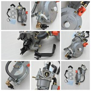 Image 4 - 168F Carburetor Dual Fuel for Gasoline Generator LPG NG Conversion Hybrid 2KW 2.5KW GX160 +90cm*90cm Scarf as Gift, Brand TONCO
