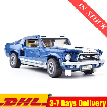 IN Stock  Creator Expert Ford Mustang Compatible 21047 10265 Set Building Blocks Bricks Assembled Toys Gifts