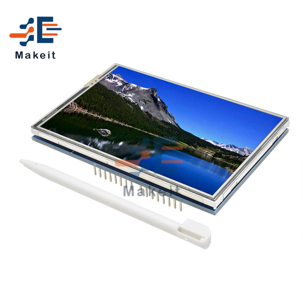 ЖК-дисплей 3,5 дюйма 480x320 TFT, HD модуль цветного экрана LI9486, контроллер для платы Arduino UNO MEGA2560 с/без сенсорной панели