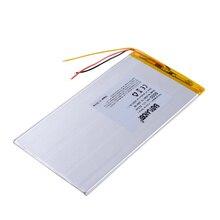 3 קו Tablet pc 3285170 3.7V 6000MAH פולימר ליתיום יון סוללה עבור tablet pc 7 אינץ 8 אינץ 9 אינץ 3285168 3085170