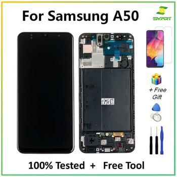 Para Samsung galaxy A50, A50s, A505F, DS, A505F, A505FD, A505A, LCD, pantalla táctil, montaje de digitalizador para Samsung A 50 lcd