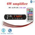 Mp3-плеер 2*3 Вт  запись в автомобиле  USB Bluetooth 5 0  встроенный MP3 декодер громкой связи  плата  модуль с пультом дистанционного управления  USB FM Aux р...