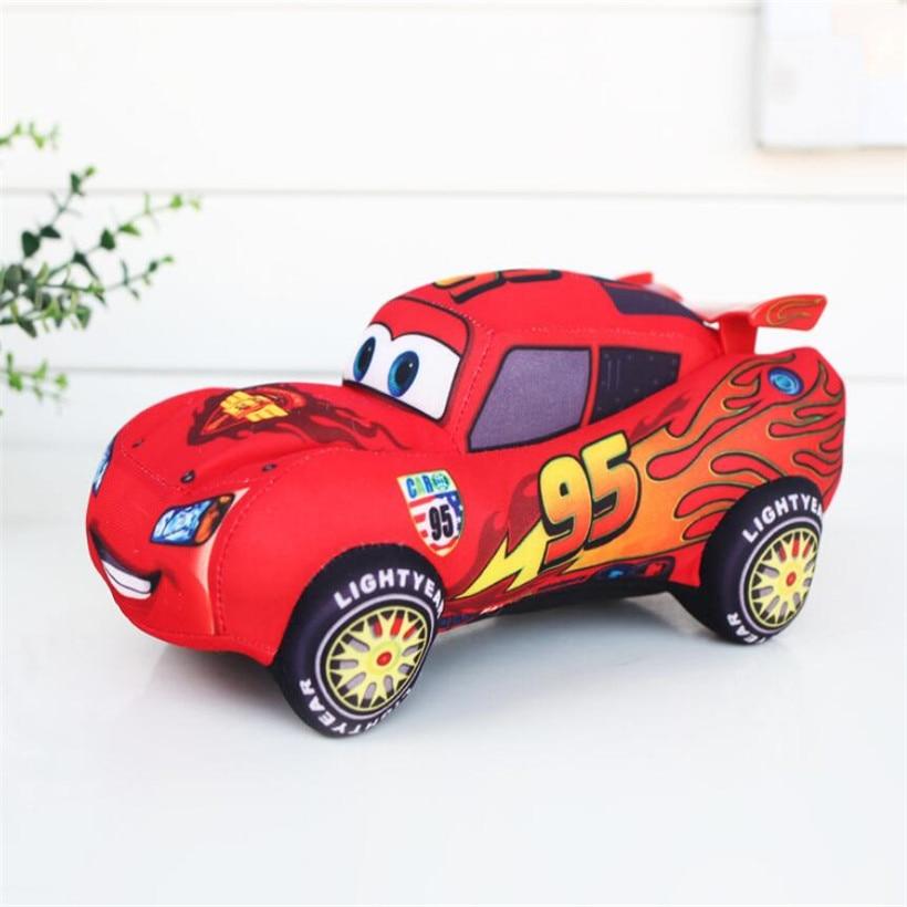 17-20 CM Disney Pixar Cars 3 Mickey Mouse Minnie Plush Toys Doll Stuffed Animals Stitch Tiger Vigny Bear Children Birthday Gifts