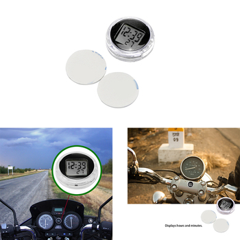 Relojes Para motocicleta de alta calidad, reloj universal resistente al agua para montar en Moto, reloj Digital con cronómetro, gran oferta