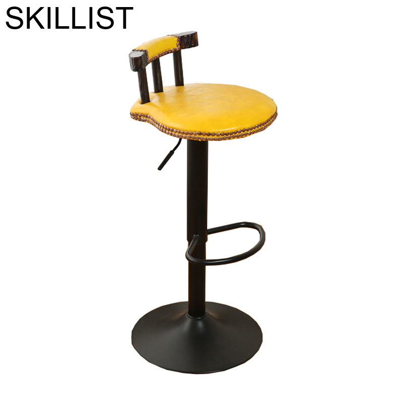 Tipos Stuhl Sandalyesi Fauteuil Bancos Moderno Sedie Hokery Taburete Leather Stool Modern Tabouret De Moderne Silla Bar Chair