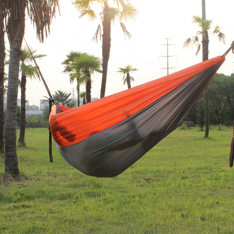 Hot Sales Supply New Style Hammock Outdoor Casual Canvas Hammock Wholesale Manufacturers Direct Selling Printed Hammock