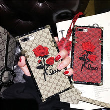 Rose Embroidered Fashion Luxury Mobile Shell for VIVO X9 X9S X20 X20P X21Y79 Y66 Y75  X7 Y85 X23 Shockproof VIVO X9 X9S X7 Plus goowiiz белое серебро vivo x9s plus