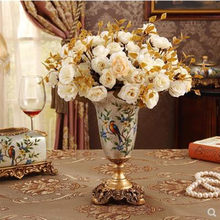 First, European ceramic vase, creative American living room home decoration ornaments