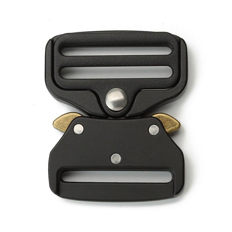 39mm Quick Release Button Men's Outdoor Tactical Button Head Metal Belt Button