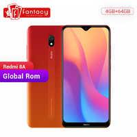 Global Rom Xiaomi Redmi 8A 8 4GB 64GB 6,22 Pantalla Completa Snapdargon 439 Octa core teléfono móvil 5000mAh 12MP Cámara Smartphone