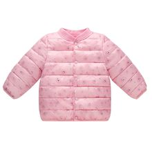 TELOTUNY Boys Girl Chlidren Winter parkas Coats Jacket Kids button Thick Cloak Outerwear warm Clothes ZA08(China)