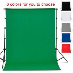 Фон для фотосъемки Гладкий муслиновый хлопковый зеленый экран хромаки кромаки фон ткань для фотостудии видео