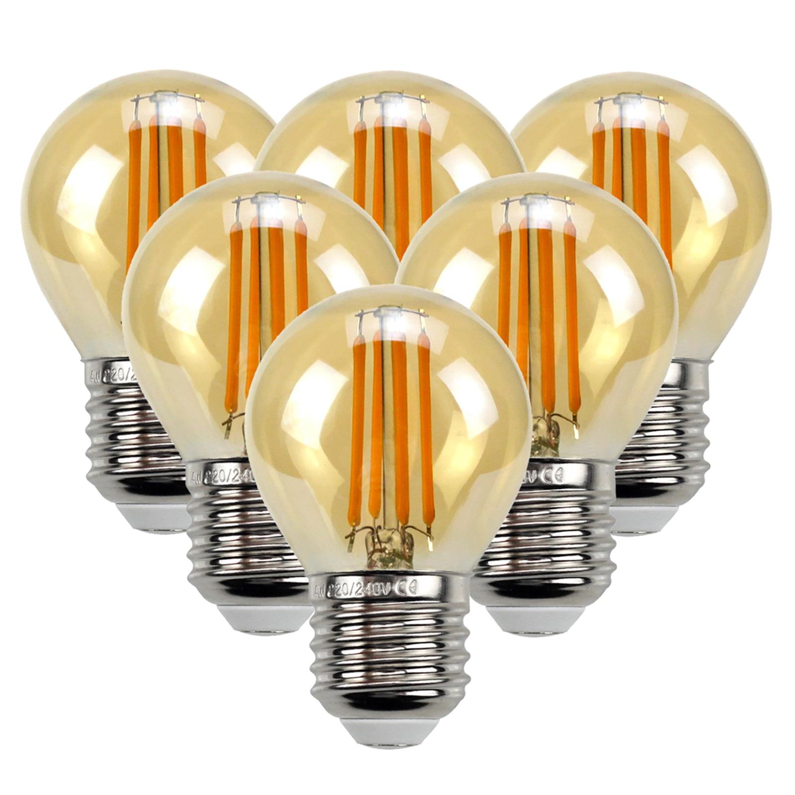 6 pcs edison lampadas branco quente 4w 04