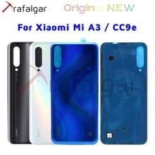 Original NEW Back Panel For Xiaomi Mi A3 Back Battery Cover Mi CC9e Rear Housing Door Glass Case For Xiaomi Mi A3 Battery Cover