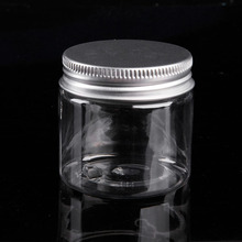 30ML-250ML Aluminum Cap Cosmetic Tin Pot Lip Balm Jar Containers Oil Wax Empty