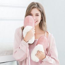 Women Winter Warm Ful Slippers Cotton Sheep Lovers Home Flip Flop Indoor Plush Size House Shoes Home Cotton Plush Slipper Female mntrerm 2018 winter warm indoor slipper for women s at fashion home slippers warm plush household shoes chinelos femininos botas