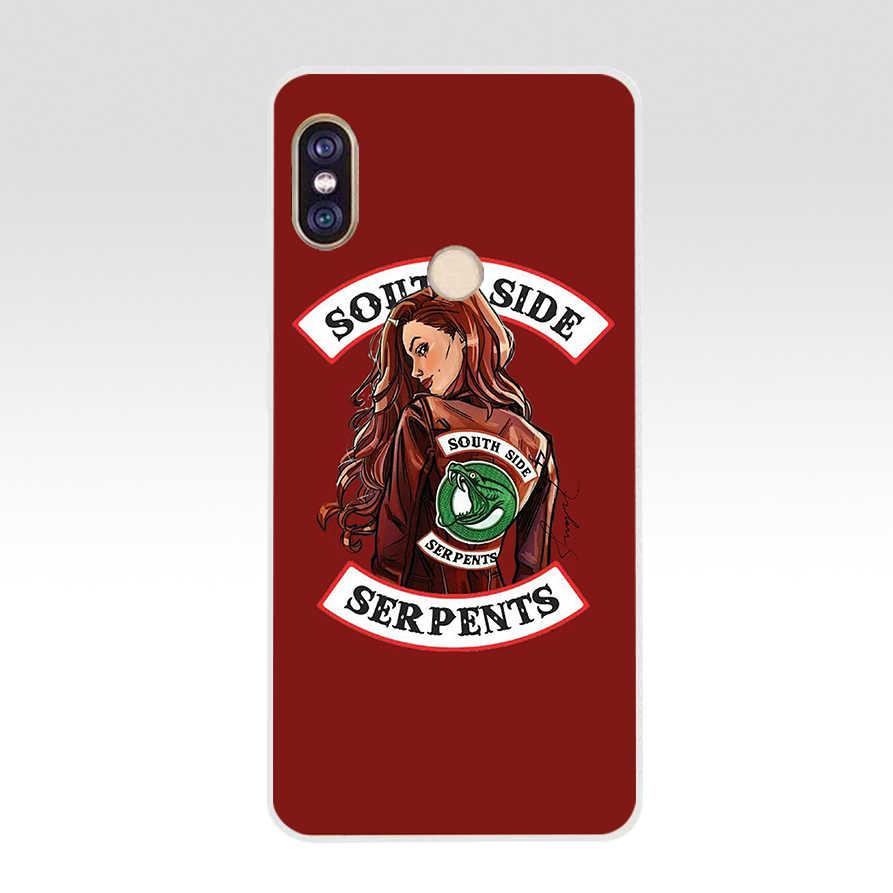 315FG Riverdale South Side Serpents funda de teléfono de silicona suave Tpu para Xiaomi Redmi 5A 5Plus note 5 5A Pro