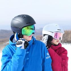 Smart4u, беспроводной Bluetooth шлем, для женщин и мужчин, ветрозащитный лыжный шлем, встроенный микрофон, велосипедный шлем, безопасность для езды, ...
