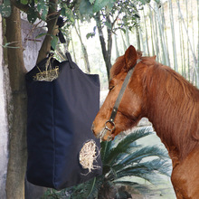 Hay Bag Outdoor Slow Feeding for Horse | Horse Feeding Bag |Portable Horse Straw Bag for Horse Riding |Equestrian Equipment