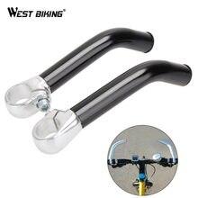 WEST Cycling-accessoire de guidon de vélo antidérapant en alliage d'aluminium, embouts de barre à griffes protectrices, embouts de poignée de cyclisme