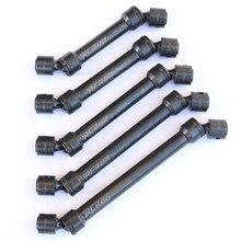 Paslanmaz çelik CVD sürücü mili 81 170mm 1/10 eksenel SCX10 TRX4 Defender D90 D110 G2 Tamiya F350 CC01 RC paletli araba parçaları