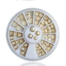 1 колесо 3d (разноцветные золотые металлические края с плоской