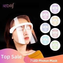 3 Colors LED Photon Light Therapy Facial Mask Wireless Use Lighten Melanin Whitening Anti-aging Skin Tighten Photonic Skin Care
