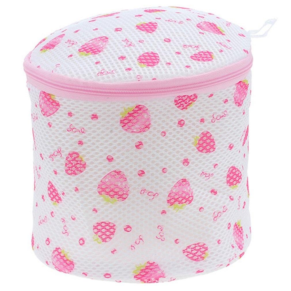 Home Bra Wash Bag Printed Round Underwear Laundry Bag Wash Bag