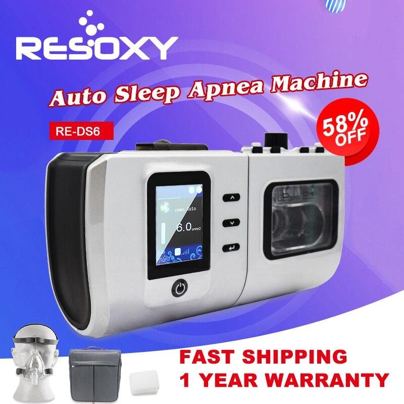 CE ISO Certified Sleep Apnea Cpap Machine Low Noise Fully Auto Portable Travel Cpap Machine  For Treat Sleep Apnea
