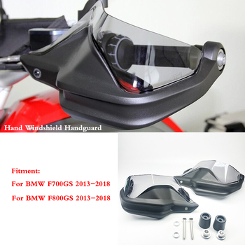 F700GS F800GS Motorcycle Handguard Hand shield Protector Windshield For BMW F700 GS F800 GS 2013 2014 2015 2016 2017 2018 image