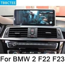 For BMW 2 Series F22 F23 2017~2019 EVO Car Android original style GPS Navigation radio stereo multimedia player DSP touch screen for bmw 2 series f22 f23 2012 2017 nbt car android navigation gps touch hd screen multimedia player stereo display audio radio