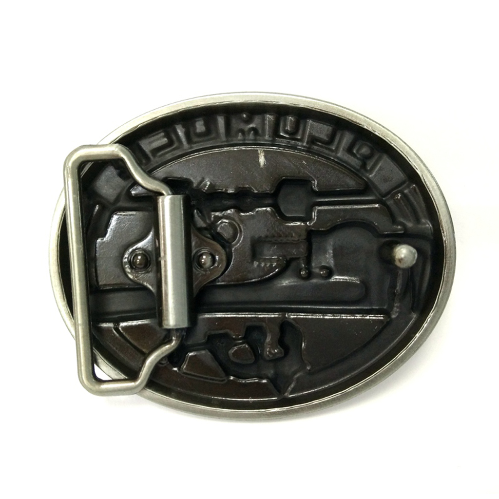 Newest Carved PLUMBER Hard Metal Belt Buckle Leather Belt Cool Accessories
